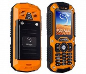SIGMA IT67 ORANGE/ BLACK
