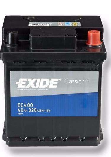 EXIDE CLASSIC 40 ა/ს EC400