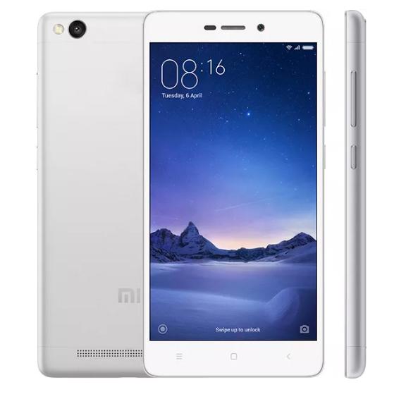 XIAOMI REDMI 3S DUAL SIM 16GB LTE WHITE/SILVER