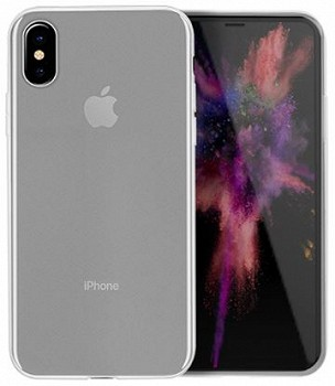 HOCO BACK COVER FASCINATION SERIES APPLE IPHONE X TRANSPARENT