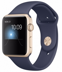 APPLE SPORT 42MM 8GB GOLD MIDNIGHT BLUE