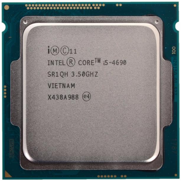 INTEL CORE I5 4690 (6 MB ქეშ მეხსიერება, 3.5 GHZ) TRAY