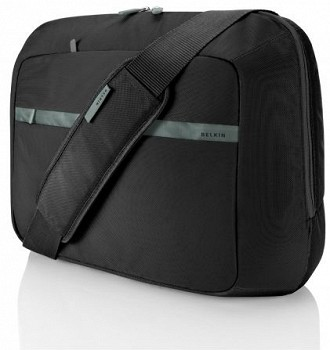 BELKIN MESENGER LAPTOP CASE BLACK/GRAY (F8N112EAKSG)