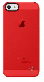 BELKIN IPHONE 5 CASE SHIELD SHEER RED (F8W162VFC04)