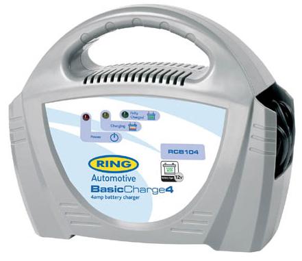 ავტომობილის აკუმულატორის დამტენი RING RECB104