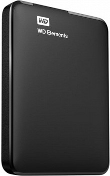 WESTERN DIGITAL ELEMENTS HDD USB 3.0 500GB BLACK