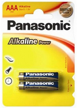 PANASONIC ALKALINE POWER (LR03APB/2BP)