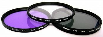 ZEIKOS ZE-FLK72 72 MM (UV-CPL-FLD)