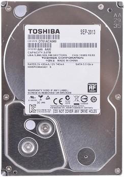 TOSHIBA 3TB 3.5