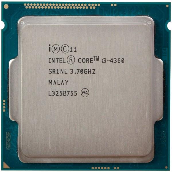 INTEL CORE I3 4360 (4 MB ქეშ მეხსიერება, 3.7 GHZ) TRAY