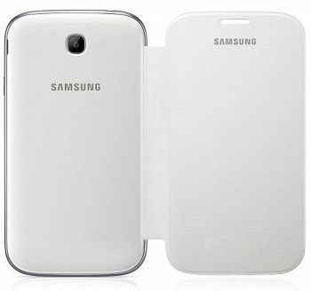 SAMSUNG GALAXY WIN FLIP COVER WHITE