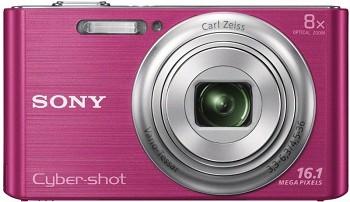 SONY CYBER-SHOT DSC-W730 PINK