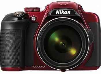 NIKON COOLPIX P600 RED