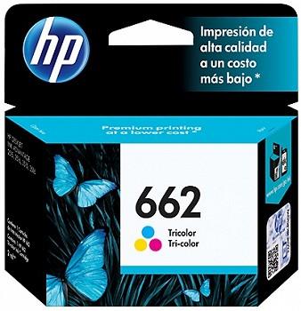 HP 662 TRI COLOR  (CZ104AL)
