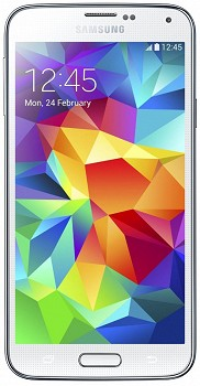 SAMSUNG G900FD GALAXY S5 DUAL SIM 16GB WHITE