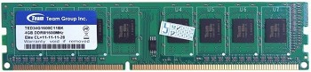 TEAM ELITE 4GB DDR3 1600MHZ (TED34G1600C11BK)