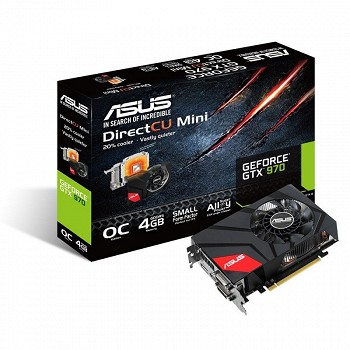 ASUS NVIDIA GEFORCE  GTX 970 4 GB (GTX970-DCMOC-4GD5)
