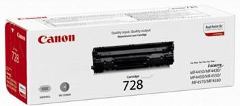 CANON 728 BLACK LASER TONER (ORIGINAL)