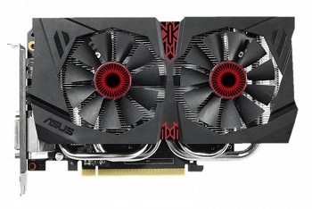 ASUS NVIDIA GEFORCE GTX 960 2 GB  (STRIX-GTX960-DC2-2GD5)