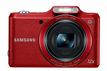 SAMSUNG SMART CAMERA WB50F (EC-WB50FZBPRRU) RED