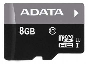 ADATA PREMIER MICROSDHC 8GB (AUSDH8GUICL10-R)