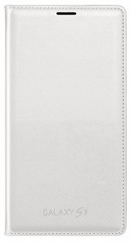 SAMSUNG GALAXY S5 WALLET FLIP COVER WHITE