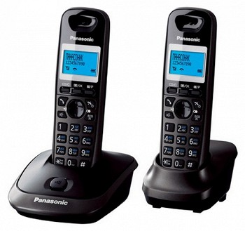 სტაციონარული ტელეფონი  PANASONIC KX-TG2512UAT TITANIUM