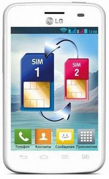 LG OPTIMUS L3 II DUAL E435 WHITE