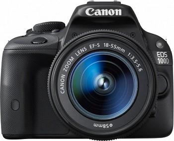 CANON EOS 100D BLACK + KIT 18-55 DC III (8576B032AA)