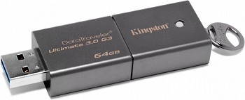 KINGSTON DATATRAVELER ULTIMATE 3.0 G3 64GB USB 3.0