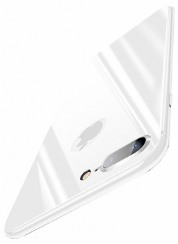 BASEUS BACK GLASS FILM FOR APPLE IPHONE 8 PLUS (SGAPIPH8P-4D0S) WHITE
