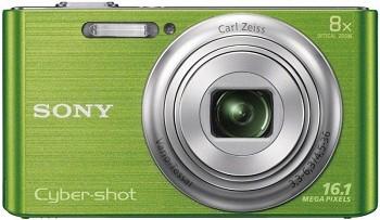 SONY CYBER-SHOT DSC-W730 GREEN (DSC-W730G)