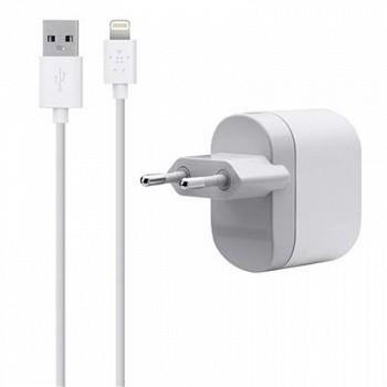 BELKIN USB CHARGER FOR APPLE WHITE (F8J112VF04-WHT)