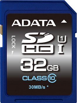 A-DATA PREMIER SDHC UHS-I 32 GB CLASS 10