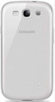 BELKIN GRIP SHEER FOR SAMSUNG GALAXY S3 WHITE (F8M398CWC05)
