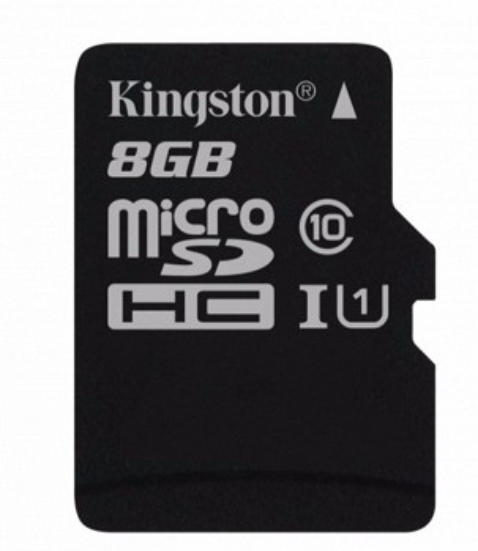 KINGSTON SDC10G2 8 GBSP CLASS 10