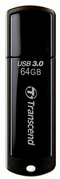 TRANSCEND JETFLASH 700 64 GB USB 3.0 BLACK