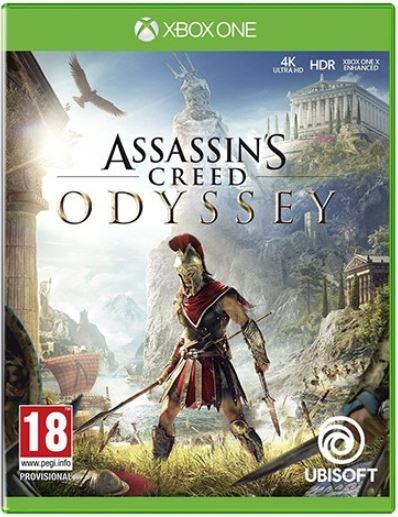 კონსოლის თამაში ASSASSINS CREED ODYSSEY (XBOX ONE)