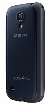 SAMSUNG GALAXY S4 MINI PROTECTIVE BACK COVER + NAVY BLUE