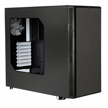 FRACTAL DESIGN DEFINE R4 BLACK PEARL - WINDOW (FD-CA-DEF-R4-BL-W) BLACK