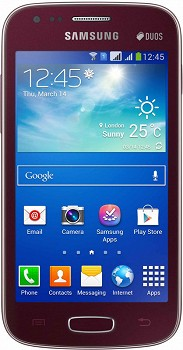 SAMSUNG S7272 GALAXY ACE 3 RED