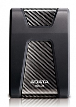 A-DATA 2TB USB3.0 HARD DRIVE  HD650 (AHD650-2TU3-CBK)
