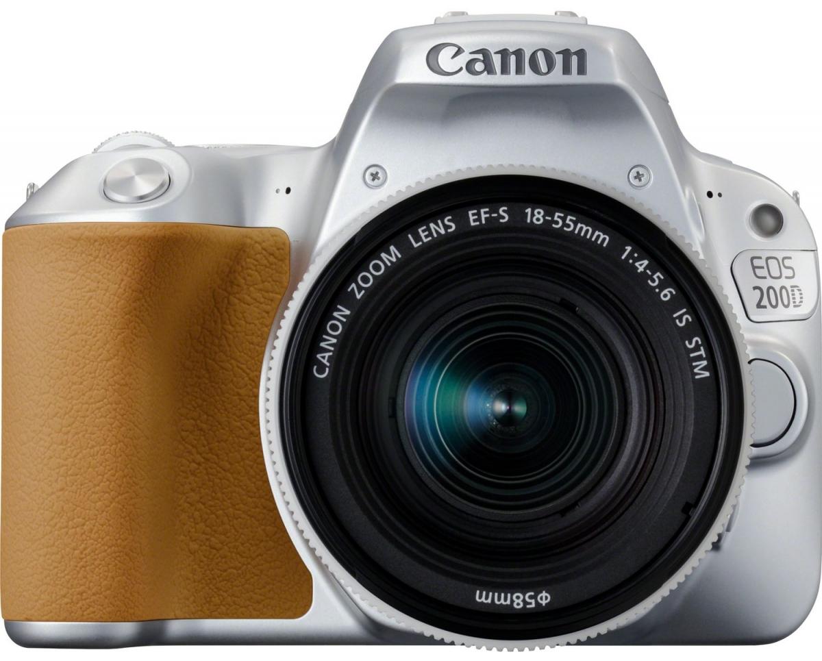 ფოტოაპარატი CANON EOS 200D EF-S 18-55 IS