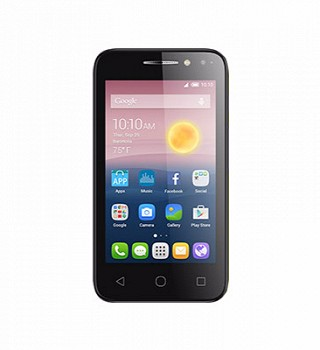 ALCATEL PIXI 4 4034D BLACK ROSE GOLD