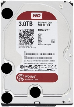 WESTERN DIGITAL RED 3TB 3.5