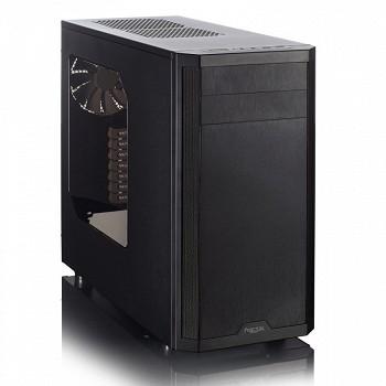 FRACTAL DESIGN CORE 3500 - WINDOW (FD-CA-CORE-3500-BL-W) BLACK