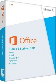 MICROSOFT OFFICE HOME AND BUSINESS 2013 32/64 ENGLISH CEE ONLY EM DVD (T5D-01598)