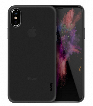 HOCO ULTRA THIN SERIES PP COVER FOR IPHONE X BLACK