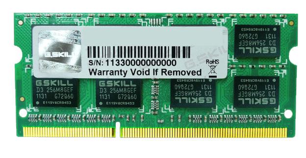 G.SKILL 4 GB DDR3 1066 MHz (F3-8500CL7S-4GBSQ)