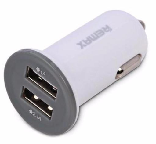 USB დამტენი REMAX R7 WHITE